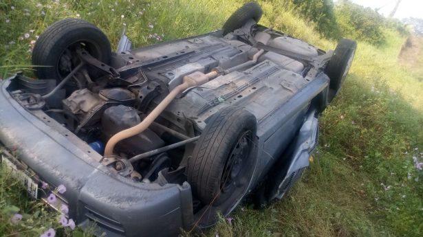 Turistas Morelianos se accidentan en la autopista siglo XXI
