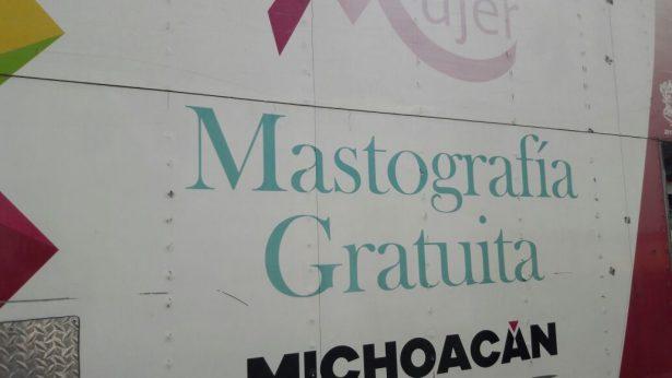 Mastografías gratuitas  en unidad móvil de SSM