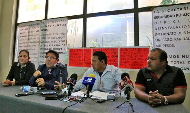 Sin liquidar, 70 expolicías despedidos