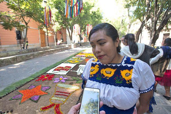 Tapetes de Patamban adornarán Morelia