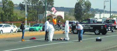 Muere arrollado en la carretera
