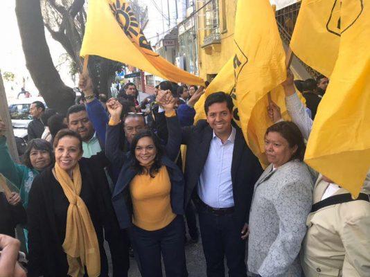Michoacanos son mi fuerza: García Conejo