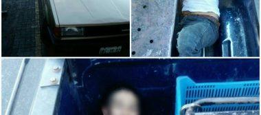 Detienen a dos presuntos roba carros