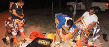 Autoridades controlan fuga en dos contenedores con gas cloro