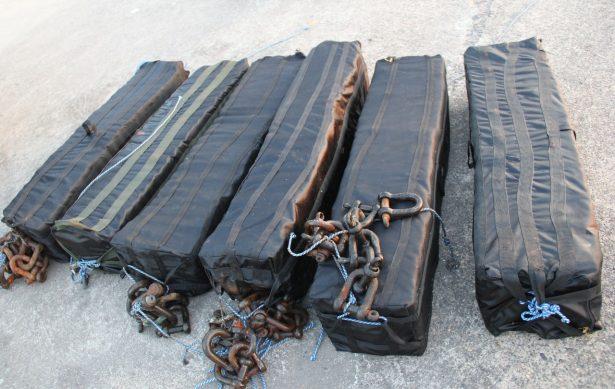 Autoridades federales decomisan cocaína en buque