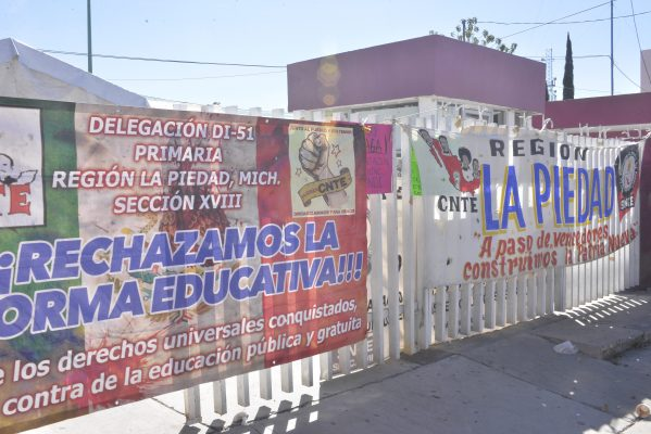 Injustificado, paro educativo: DIII-6