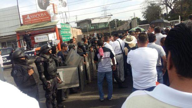 Se violenta CNTE en el Puerto de LC