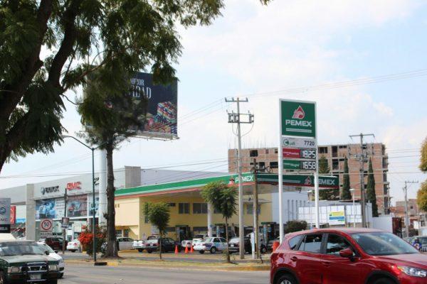 Gasolina cara en  este arranque de año