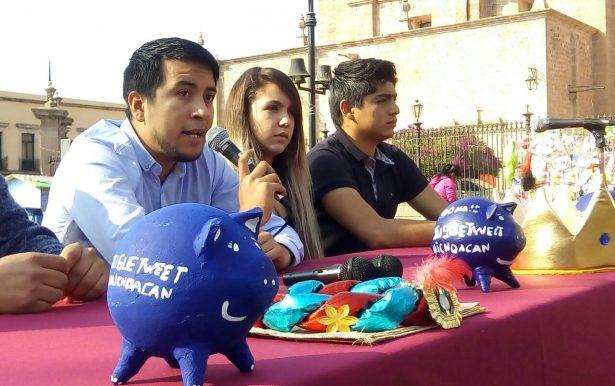 Twitteros de Michoacán convocan a colecta de juguetes
