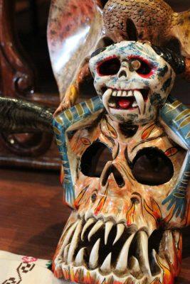 Máscaras de Tócuaro,  tradición de un siglo