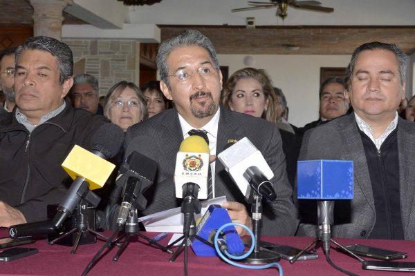Anuncia rector fin a subsidio de ISR, en la UMSNH