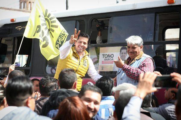 Pide Toño García celeridad en definición de candidato al Senado