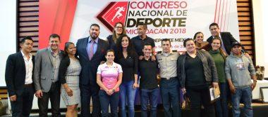 Concluyó el Congreso Nacional del Deporte Michoacán 2018