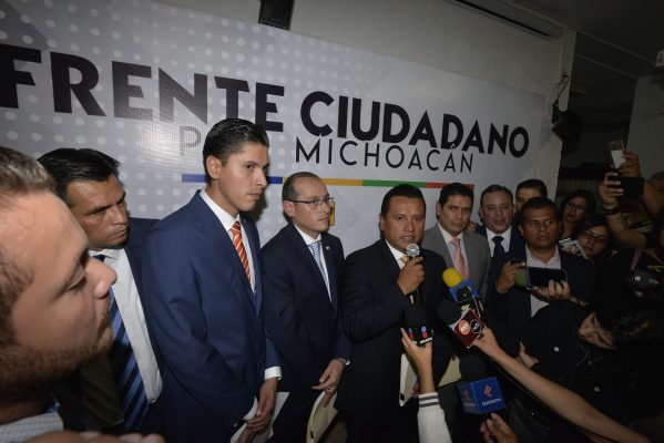 Tambalea frente electoral PRD, PAN, MC y PVEM en 13 municipios