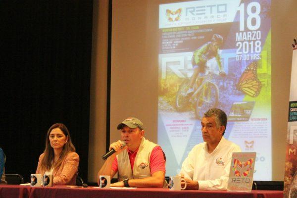 Presentan Ruta Ciclista Monarca 2018
