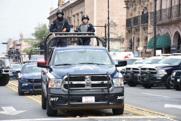 Más Policías Federales arribarán a Michoacán