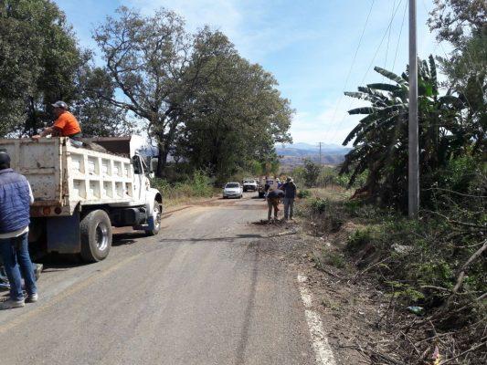 Inicia obra de bacheo en Tacámbaro