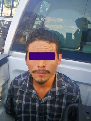 Policía detiene a presunto ladrón de cable de cobre