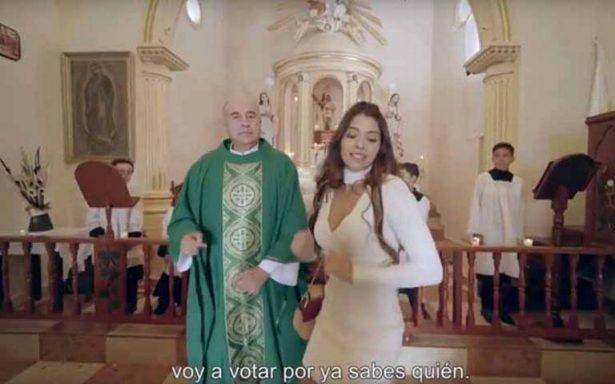 Por video de la Niña Bien pagaron 15 mil pesos a parroquia de la CDMX