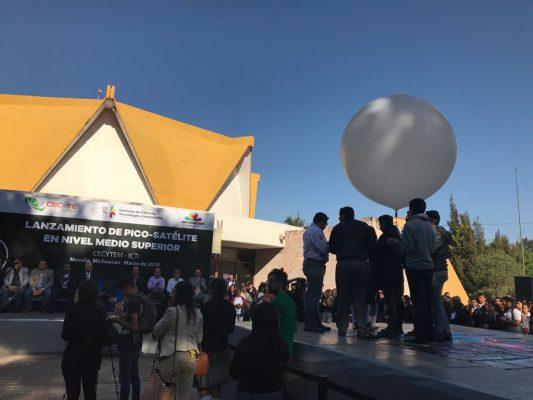 Lanzamiento del primer  pico-satélite