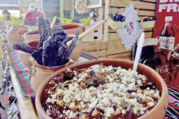 Reunidos, olores, colores y sabores de la gastronomía michoacana