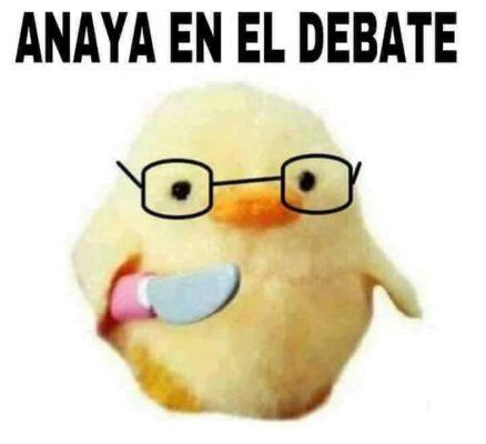 Los mejores memes de el Primer Debate Presidencial
