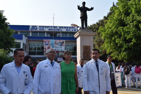 "Arriba carga de medicamentos e insumos al Hospital General ""Dr. Miguel Silva"""