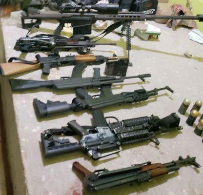 Sedena y SSP detienen a dos mujeres con armas en Buenavista