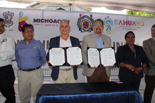 En Sahuayo, el nuevo Nodo de Educación a Distancia de la Casa de Hidalgo