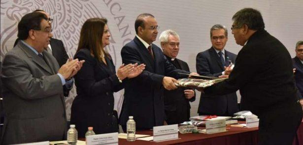 Participa Segob en entrega de Registros Constitutivos a nuevas Asociaciones Religiosas