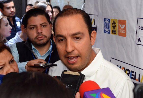 Plantea Marko Cortés protocolo de seguridad electoral para todos