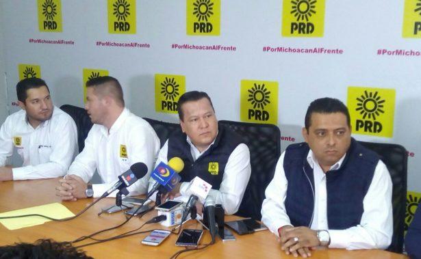 PRD no solapará candidaturas de quienes tengan lazos con el crimen organizado
