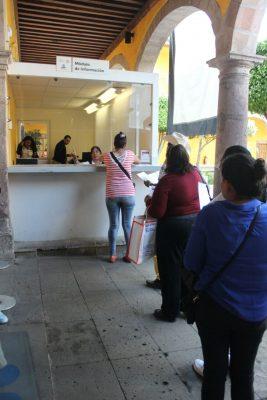 Al SAT Michoacán 1 acuden este mes hasta 1 mil personas físicas