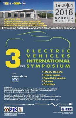 Lista UMSNH para la realización del Tercer Simposio Internacional de Vehículos Eléctricos