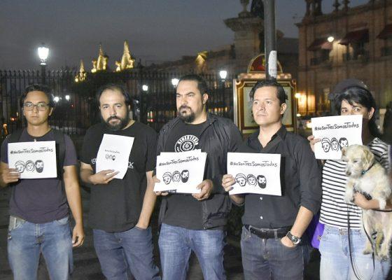 Claman justicia por estudiantes de Jalisco asesinados