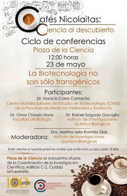 Biotecnología, tema del Café Nicolaita esta semana