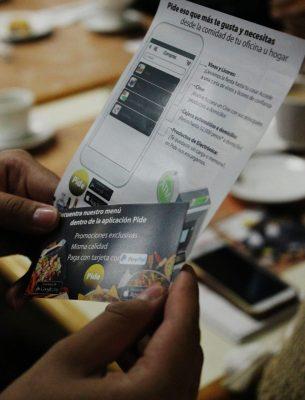 Pide una app para comida  a domicilio en Morelia