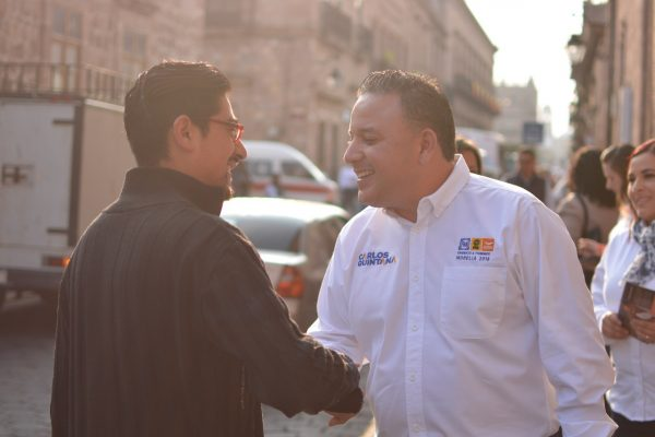 Inseguridad, principal preocupación de los morelianos: Quintana