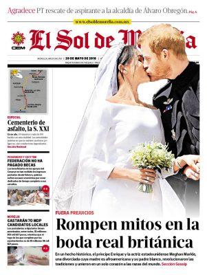 portada morelia 20 mayo