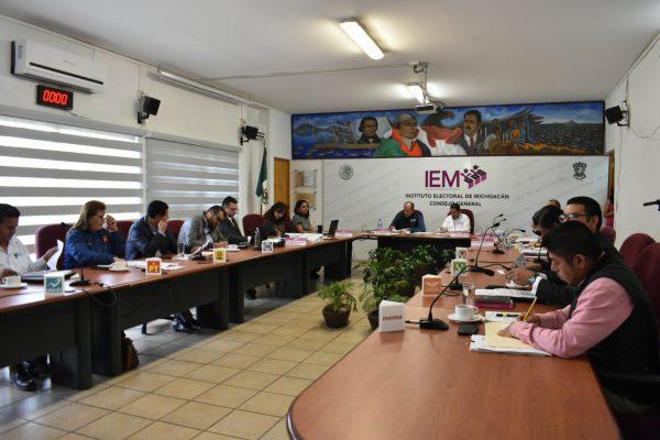 Aprueba IEM acuerdos relativos al proceso electoral