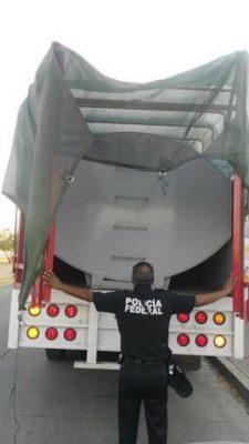 Incauta la PF gasolina robada