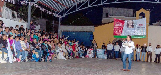 Se respiran aires de cambio: Candidata a la alcaldía de Huandacareo