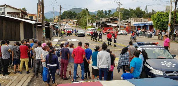 Asaltantes asesinan a padre e hija en Zitácuaro
