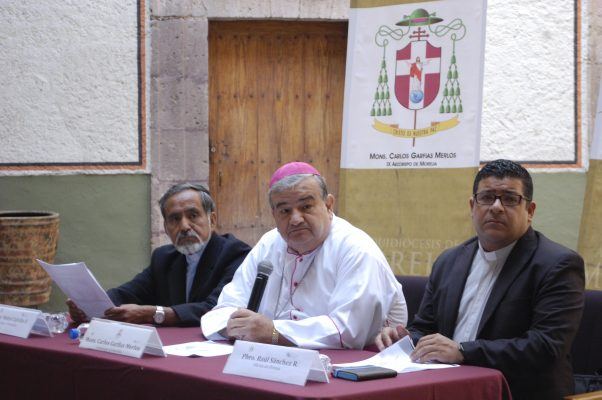 Iglesia se unirá al plan de pacificación