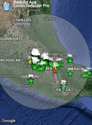 Reporta PC sin afectaciones en Michoacán por sismo de esta mañana