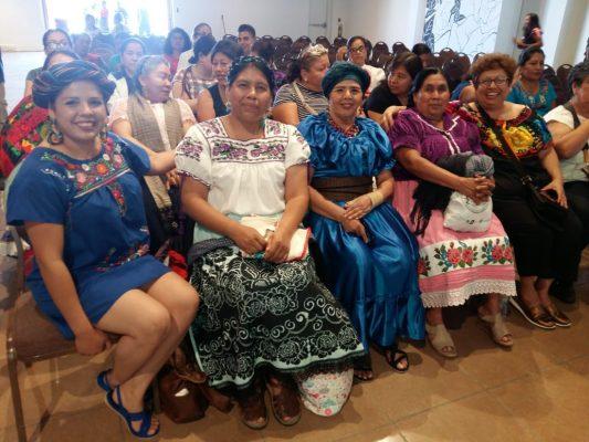 Se presentan cocineras tradicionales en Foro Mundial de la Gastronomía Mexicana
