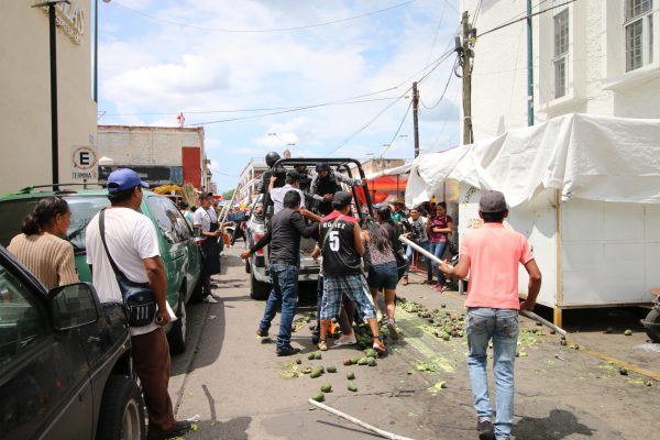 Inicia CEDH investigación de oficio tras operativo para retirar comercio informal