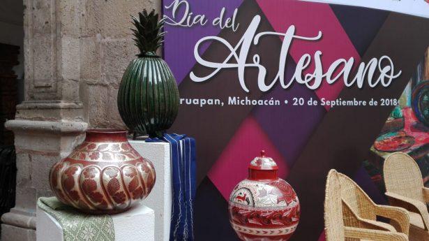 Anuncian actividades por el Día del Artesano Michoacano