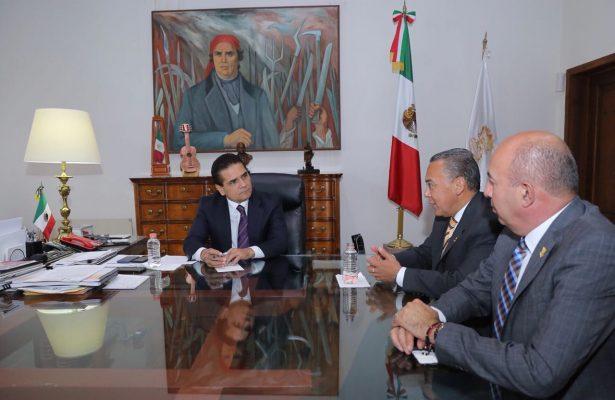 Fortalecerán Estado-Federación operatividad de los Conalep en Michoacán