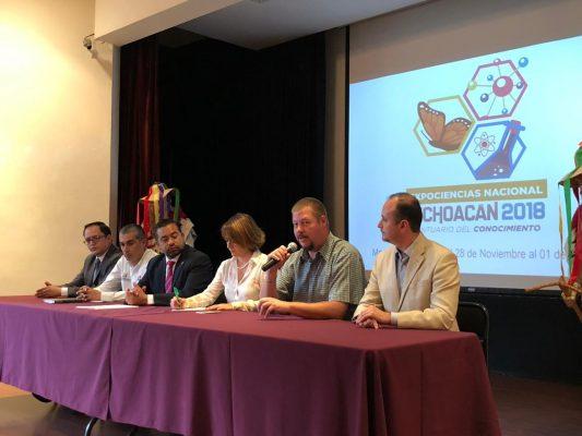 Morelia será sede de Expo Ciencias 2018